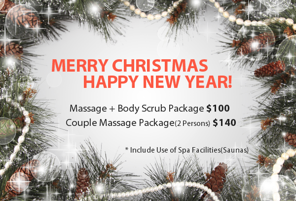 Merry christmas happy new year 2016 hudson spa massage nj for 12 days of christmas salon specials