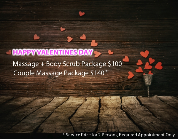 Hudson Spa 2016 Valentines Day Special